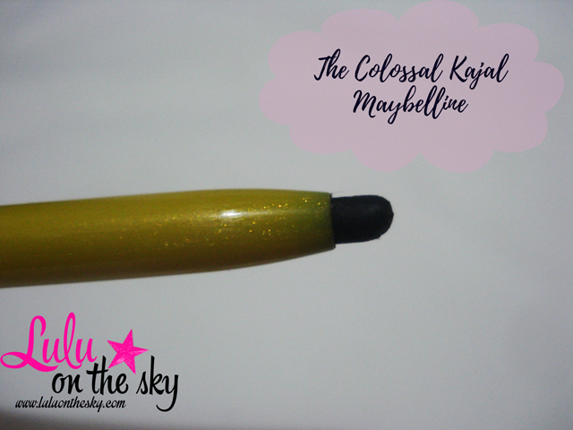 The Colossal Kajal Maybelline: eu testei - blogluluonthesky