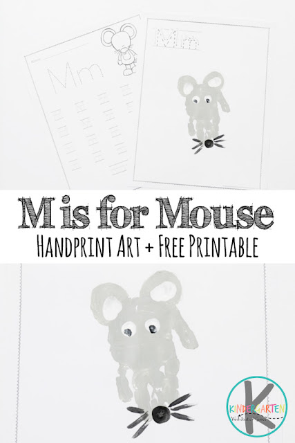 M Is For Mouse Alphabet Craft Kindergarten Worksheets And Games