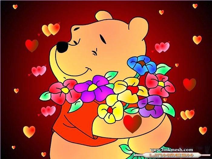 Winnie The Pooh Día Del Amor Frases Amor Imagenes Y Frases De Amor