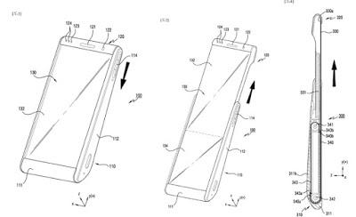 براءاة اختراع تكشف تصميم هاتف سامسونغ الجديد