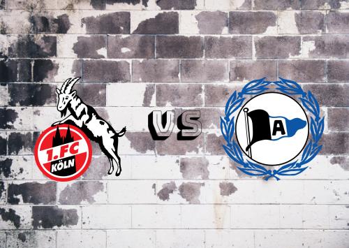 Köln vs Arminia Bielefeld  Resumen