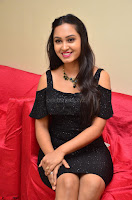 South Actress Amulya in short black dress at Kalamandir Foundation 7th anniversary Celebrations ~  Actress Galleries 050.JPG
