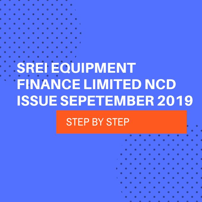 SREI Equipment Finance Limited NCD September 2019 Review