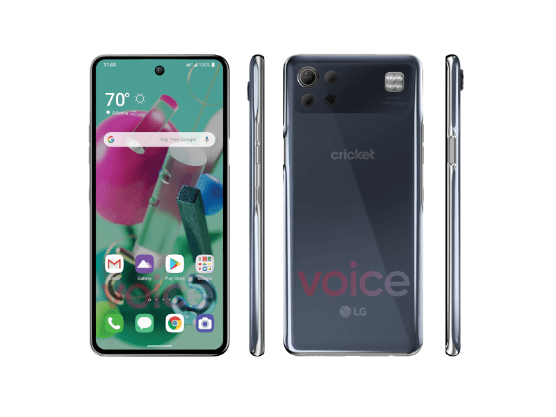 Alleged LG K92 5G renders leaks, reveals 64MP quad-cam, and punch hole!