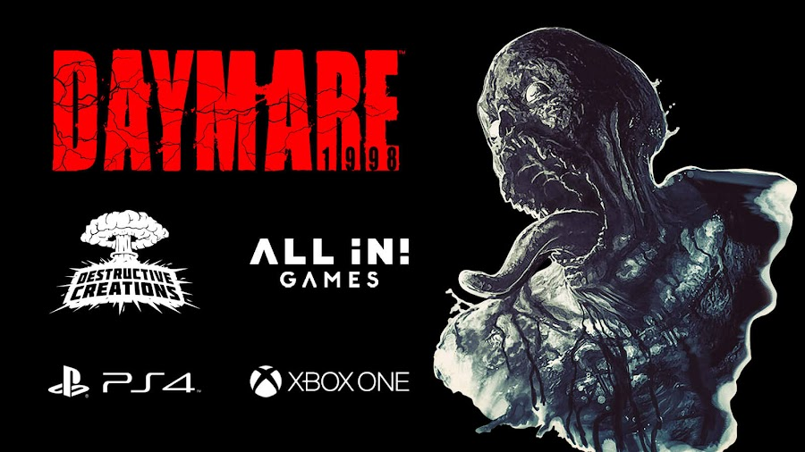 daymare 1998 ps4 xb1 third-person survival horror game invader studios all in games destructive creations