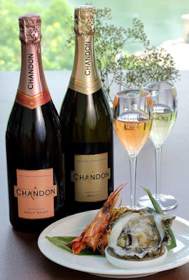 sashimi platter, seafood platter, Bubbly Afternoon with Chandon, EGG, Chandon, Chandon Brut, Chandon Rose, Chardonnay 2013, Pinot Noir 2013, Shiraz 2012, Domaine Chandon, Eight Gourmets Gala, EGG,