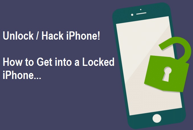 How to Get into a Locked iPhone