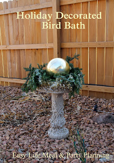 Decorating for the Holidays - Easy Life Meal & Party Planning - Get creative with your outdoor holiday decorations