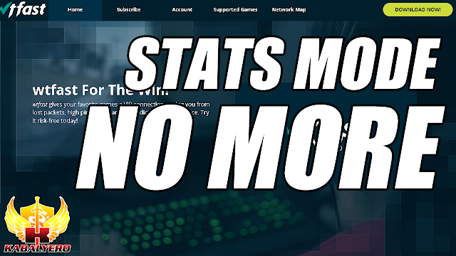 WTFast Stats Mode Now Requires A Subscription - KABALYERO (Game