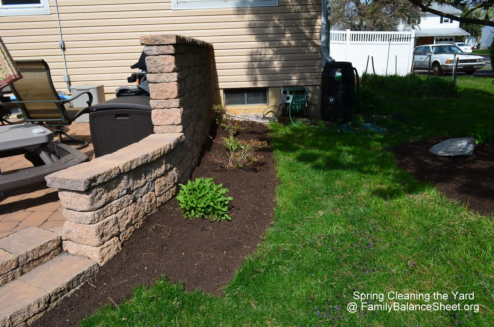 Front Yard Landscaping: Spring Clean Up! - Family Balance ...