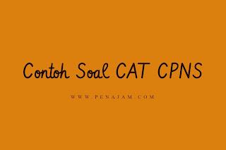 Download Unduh Contoh Soal CPNS Online