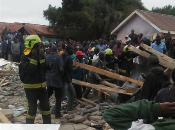 Students dead as classroom collapses in Kenya's Nairobi