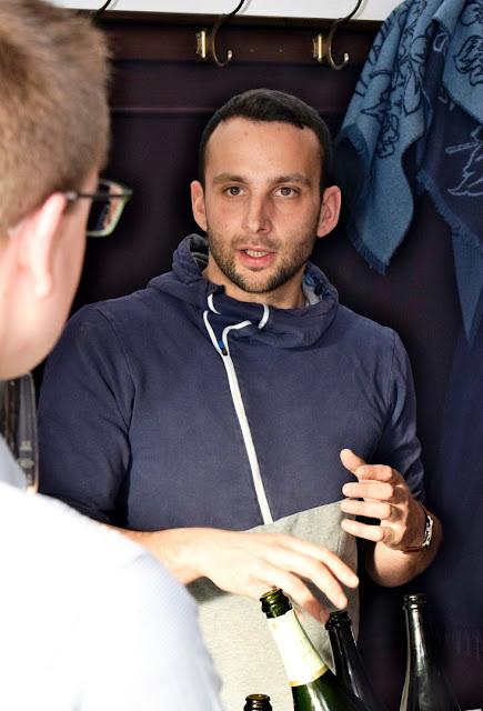 Niko Brandner vom Sekthaus Griesel & Compagnie