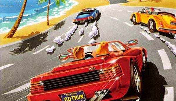 OutRun Ferrari Testarossa Spider