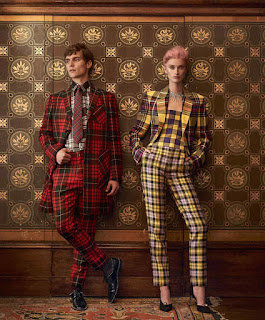Festive Tartan: George Admiraal Poses for How To Spend It Magazine