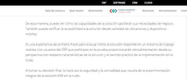 Importancia de las Demostración en la Selección de un Software ERP