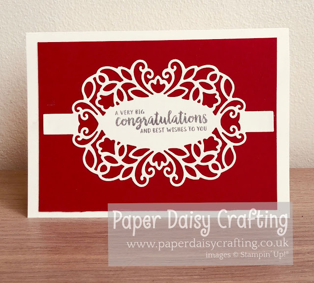 Detailed bands Stampin Up Paper Daisy Crafting