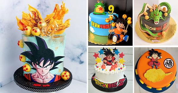 Las mejores Tartas de Cumpleaños de Dragon Ball