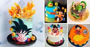 Tartas de Cumpleaños de Dragon Ball