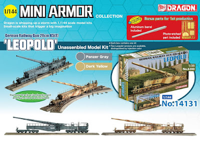 1/144 German Railway Gun 28cm K5(E) 'leopold picture 1