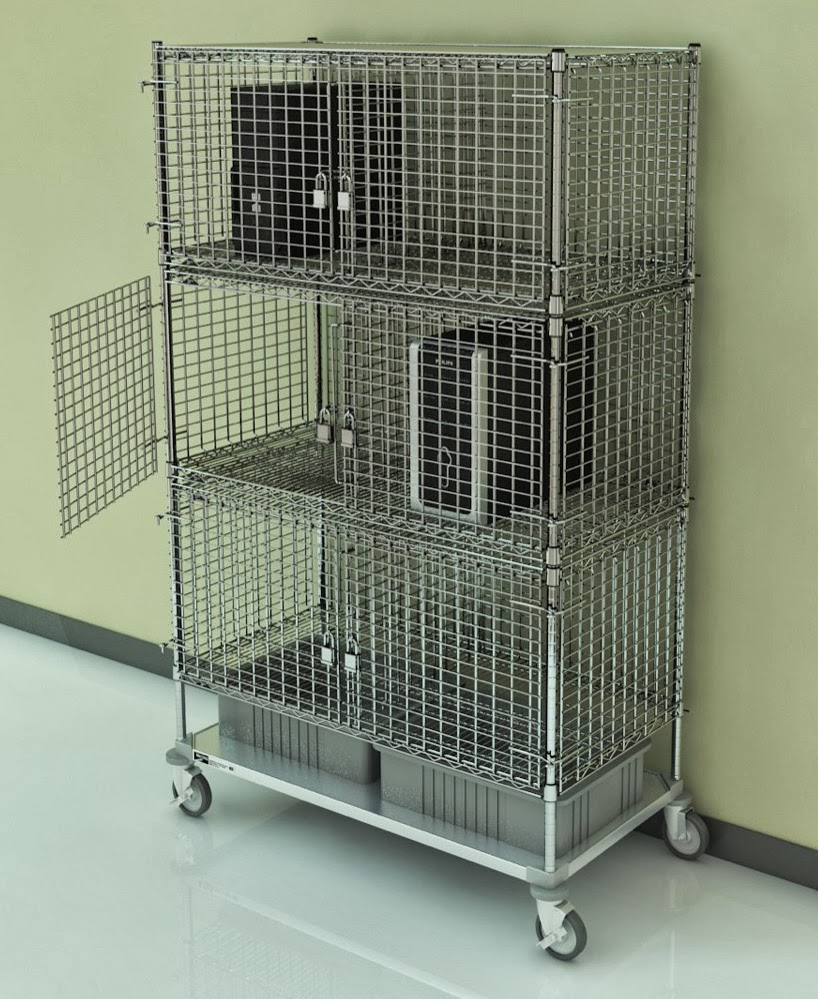 Metro Shelving Products Security Cage Locker