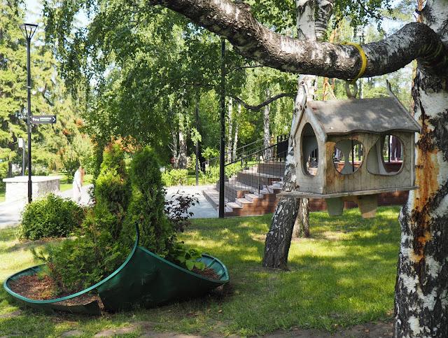 Новосибирск, Михайловская набережная (Novosibirsk, Mikhailovskaya Embankment)