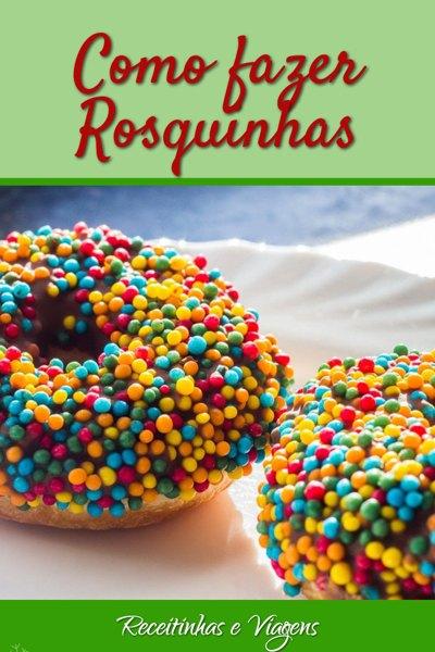 Como fazer rosquinhas para o lanche (donuts)
