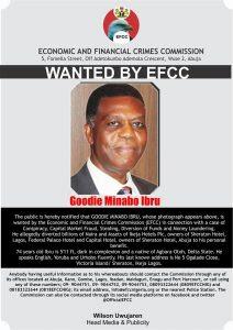 EFCC declares Goodie Ibru wanted