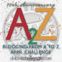 A to Z blogging icon