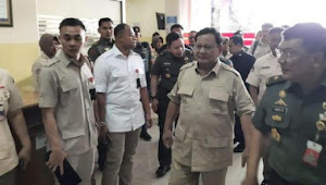 Menhan Prabowo: Saya akan berantas korupsi  lingkungan pertahanan