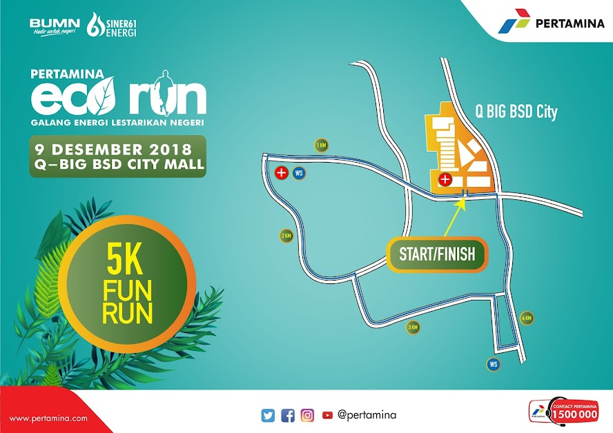 Pertamina Eco Run • 2018 5K