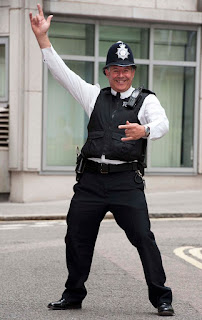 Westlake Legal Group YouCanDanceIfYouWantTo A Frolicking Police Officer