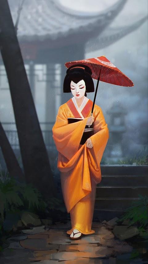 Cô Gái Geisha