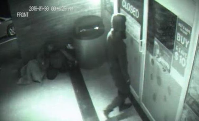 Man Caught In CCTV Going Through Wall. See It For Yourself. 5477915
