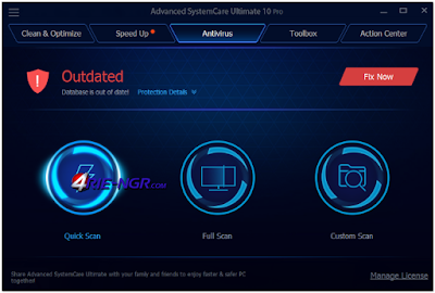 Advanced SystemCare Ultimate 10.1.0.91 Full Version