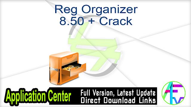 Reg Organizer 8.50 + Crack