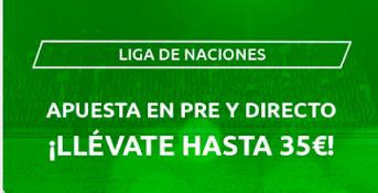Mondobets promo UEFA Nations League 3-8 septiembre 2020