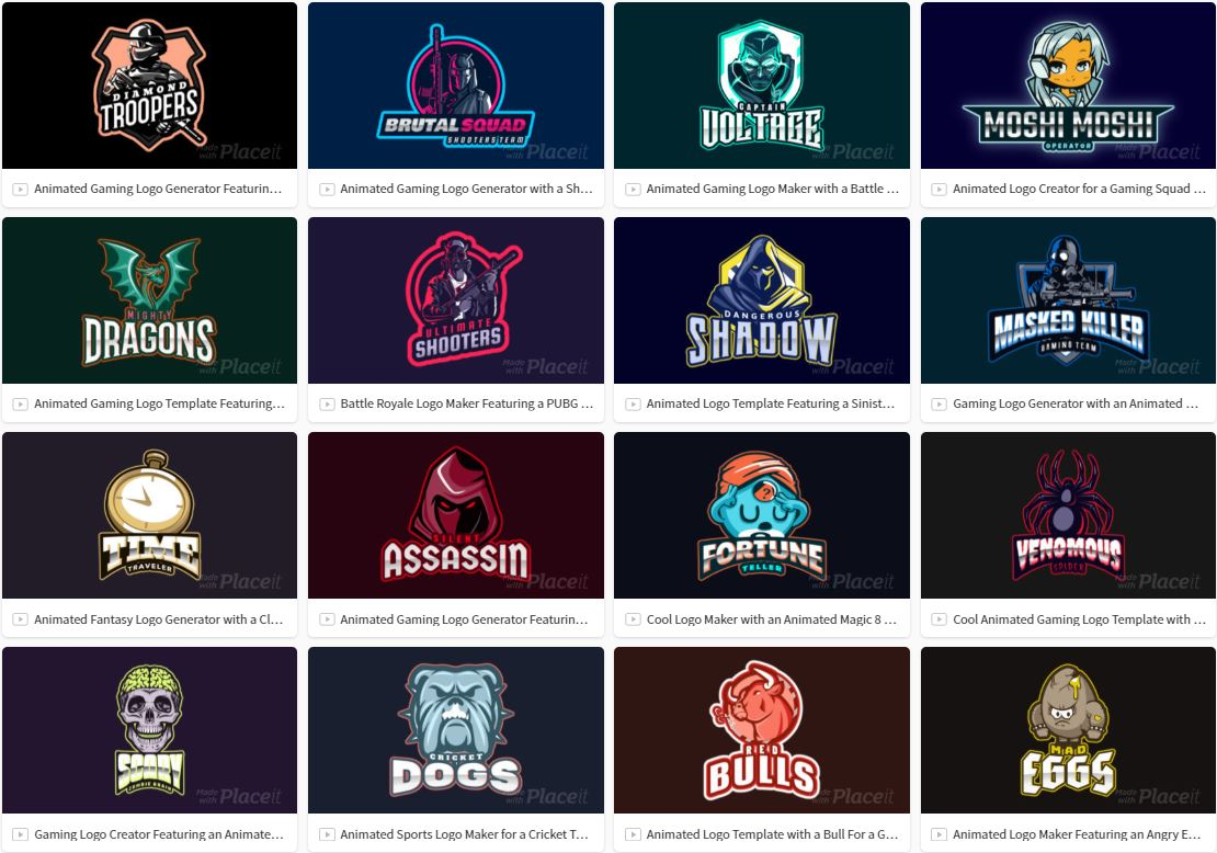 1500 Best Gaming Logo Templates Free Premium