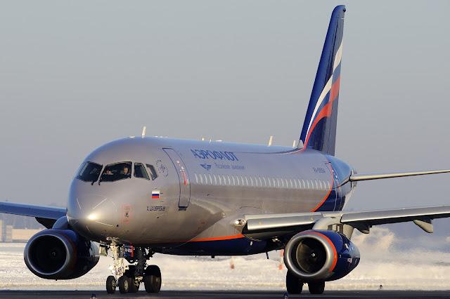Aeroflot RA-89004 Sukhoi Superjet 100-95B
