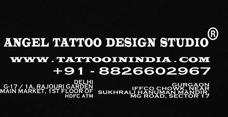 Tattoo Shop-Artists Near Me in Delhi-Gurgaon