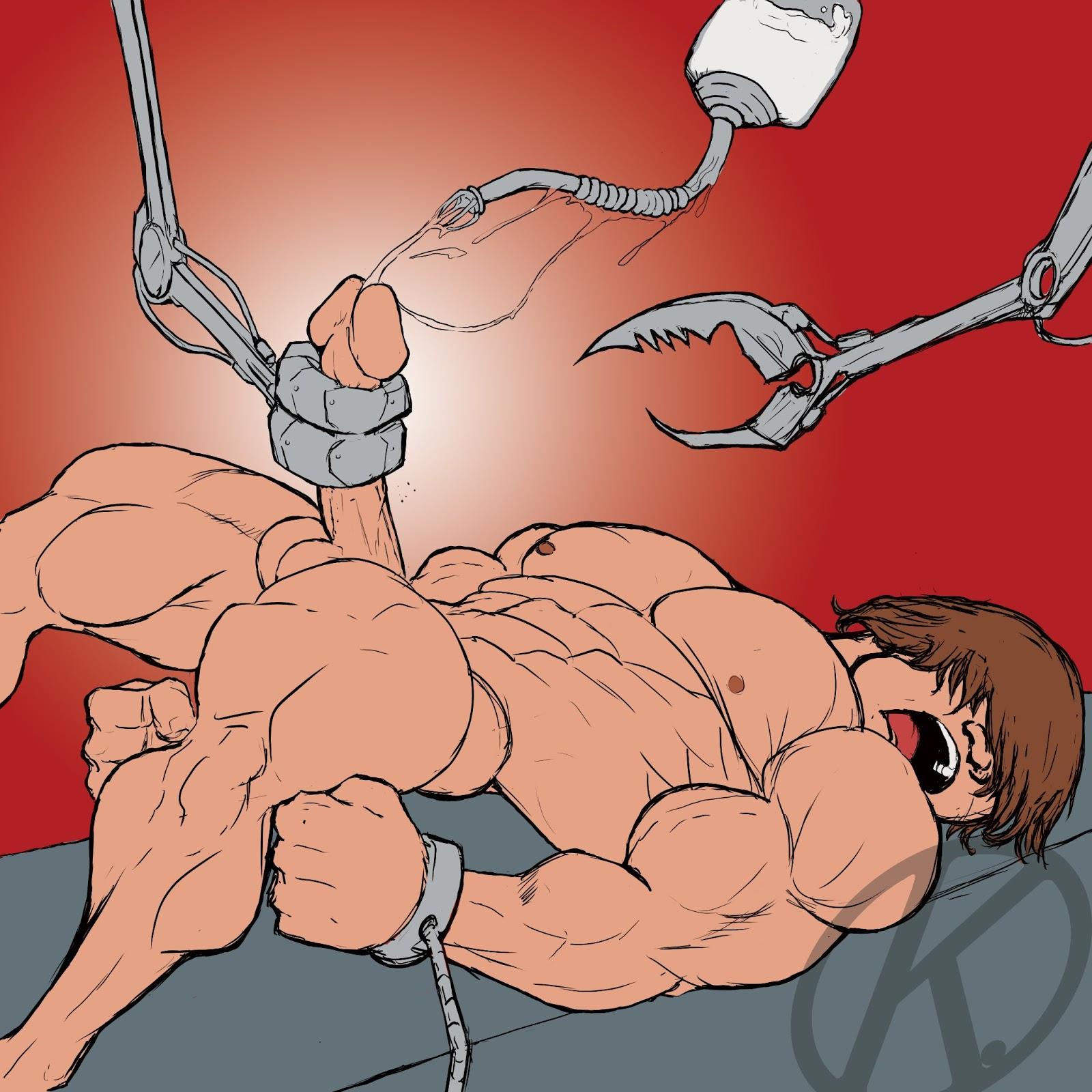 breast milking cartoon