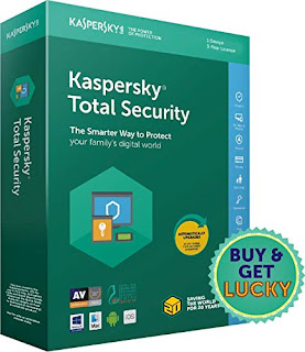 Kaspersky Total Security 1 User, 3 Years,amazon.in