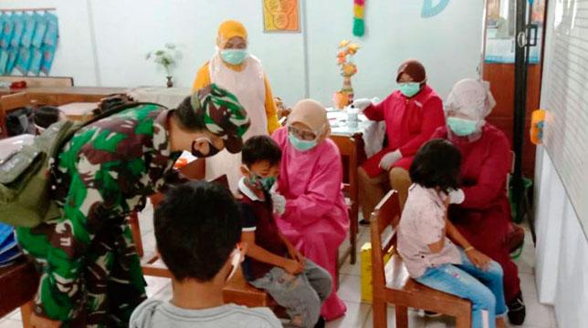 INDES-HANKAM-TNI MUSUK BOYOLALI MASIH DAMPINGI BIAS
