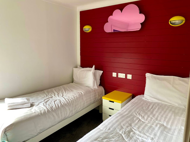Second twin bedroom with similar facilities as the first