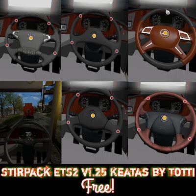 Setir Pack ETS2 1.25 keatas by Totti