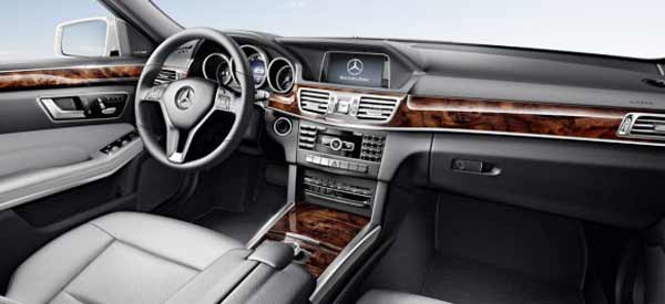 2016 Mercedes Benz E350 Sedan Dashboard