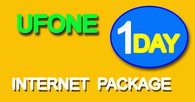 ufone one day internet pacakge
