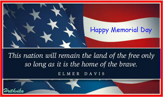 Memorial Day 2017 Greetings Cards & Ecards