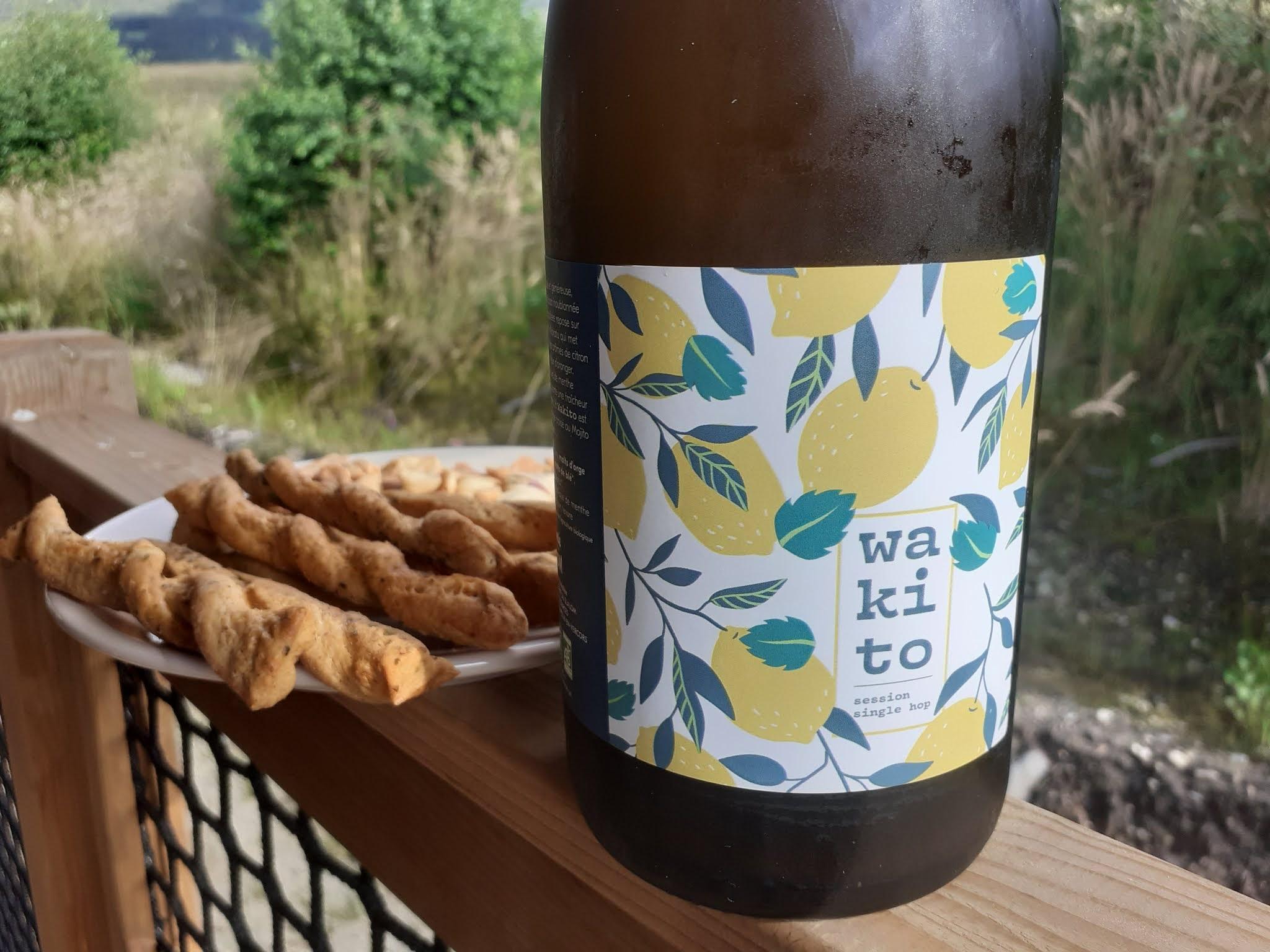 Bière Wakito - Brasserie du Slalom - La Chapelle-en-Vercors
