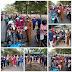 Lurah Tanjungriau Bagikan 2000 Pcs Masker di Simpang Baskemp
